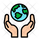 Ecological Charity World Icon