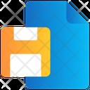 File Floppy Save Icon