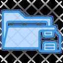 Save Folder Save Folder Icon