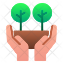 Forest Hand Save Icon