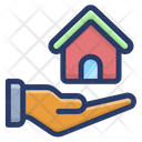 Save Home House Care Real Estate Icon