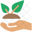 Eco Protection Agriculture Icon