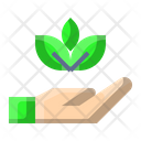 Save Leaves Icon