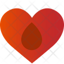Save Life Heart Blood Icon
