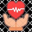 Heart Care Health Icon