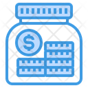 Saving Money Coins Icon