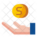 Save Money Hand Icon