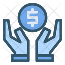 Saving Money Hand Icon