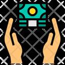 Money Cash Hands Icon
