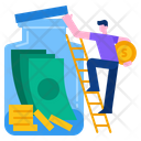 Save Money Save Investment Icon