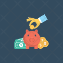 Piggy Savings Retirement Icon