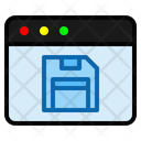 Save Page Save Floppy Disk Icon