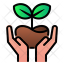 Save Ecology Leaf Icon