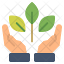 Eco Ecology Gesture Icon