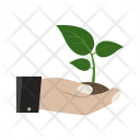 Save Plant Eco Icon