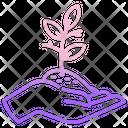 Save Plant Icon
