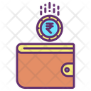 Mwallet Rupees Save Rupee Wallet Icon