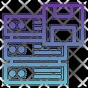 Save Server Data Backup Server Data Save Icon