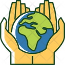 Save The Earth Environmental Protection Earth Day Icon