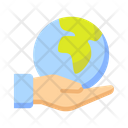 Save The Earth Save Planet Icon