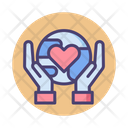 Save The Planet Save Earth Save World Icon
