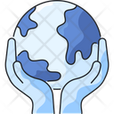 Save The Planet Earth Day Earth Icon