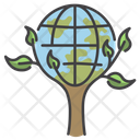 Save The Planet Ecology Earth Icon