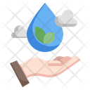 Save The Water Save Water Save The Planet Icon