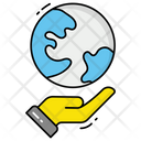 Save The World Save The Planet Globe Icon
