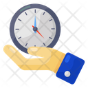 Save Time Keep Time Protect Time Icon