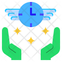 Time Interval Space Icon