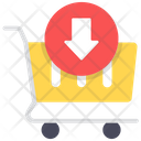 Save To Cart Add To Trolley Shopping Icon