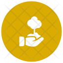 Save Tree Growth Icon