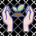 Save Tree Leaf Icon