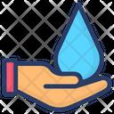 Save Water Water Saving Ecology Icon