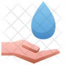 Hand Hold Water Icon