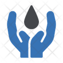 Drop Care Safety Icon