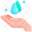 Hand Save Water Water Icon