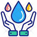 Save Water Water Preservation Water Shortage Icon