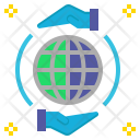 Existing Exist Earth Icon