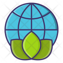 Save World Globe Icon
