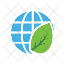 World Eco Leaves Icon
