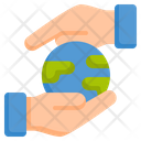 Save World Save Earth Save Environment Icon