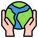 World Ecology Earth Icon