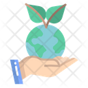 Save World Save Earth World Icon