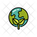 Planet Save World Icon