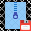 Save Archive File Icon
