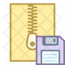 Save zip file Icon