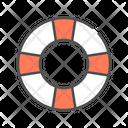 Savety Lifebuoy Life Saver Icon