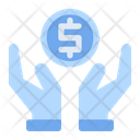 Saving Money Hand Icon